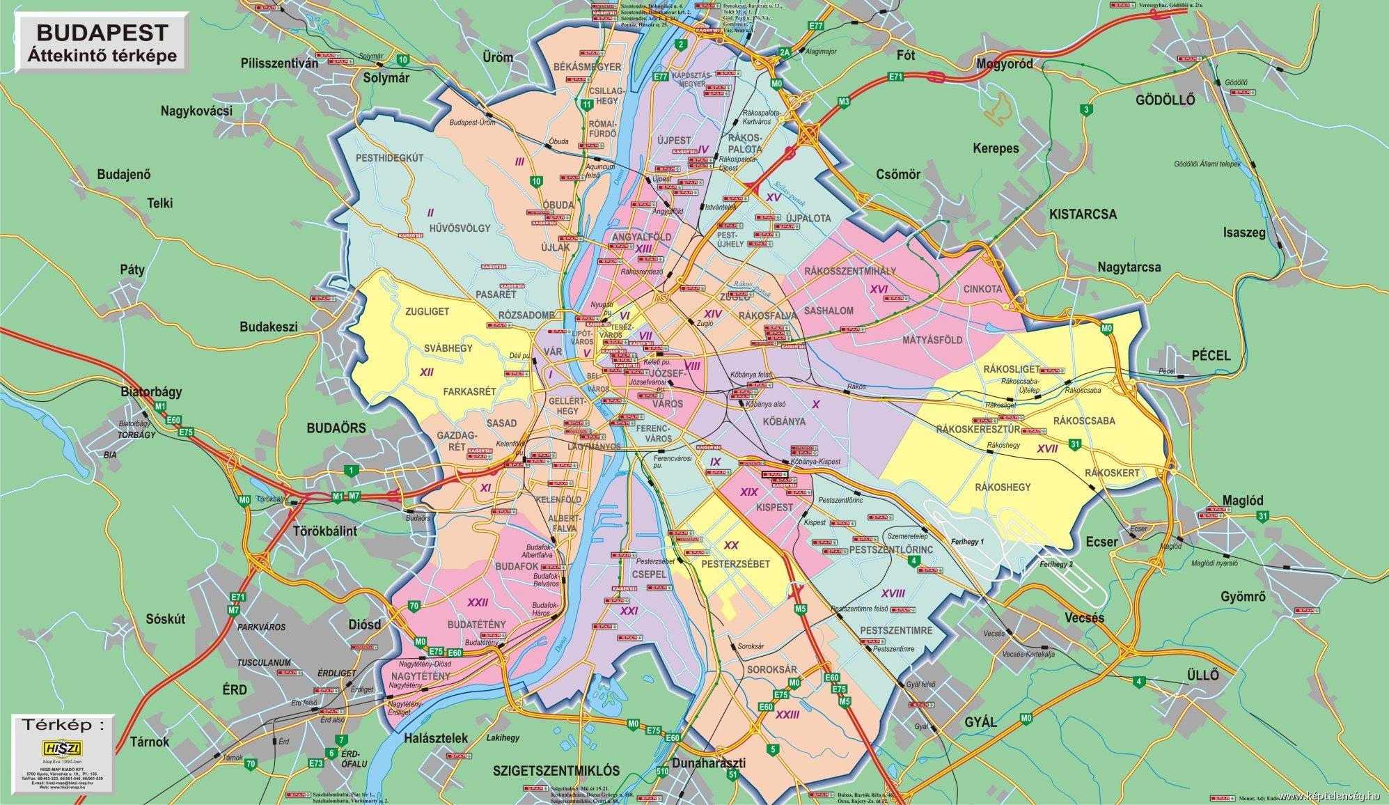 budapesti térkép Kerítés épül Budapest köré | HírCsárda budapesti térkép